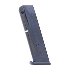 Mec-Gar Beretta 92FS M9 9mm 15-Round Blue Magazine left